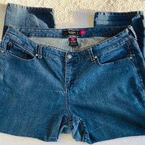 TORRID Straight Leg High Rise Jeans